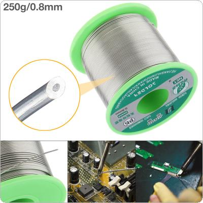 250g 0.8mm 99.7% Sn 0.03% Cu Environmental Friendly Lead-free Rosin Core Solder Wire with Flux and Low Melting Point for Electric Soldering Iron