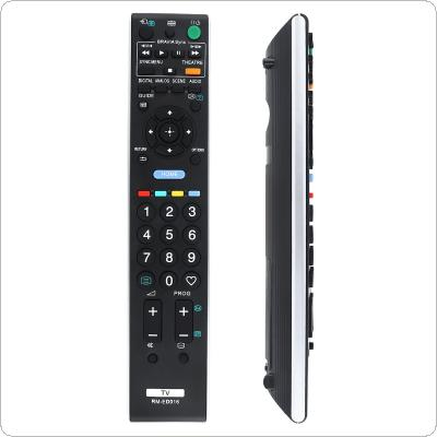 Replacement 433MHz IR TV Remote Control with Long Transmission for SONY RM-ED016 TV