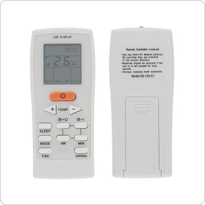 Replacement IR 433MHz Air Conditioner Remote Control with Long Transmission for YORK GZ-12A-E1 Air Conditioner