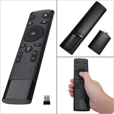 Air Mouse Voice Wireless 2.4G Voice Remote Control for Smart TV Android Box IPTV With USB Receiver