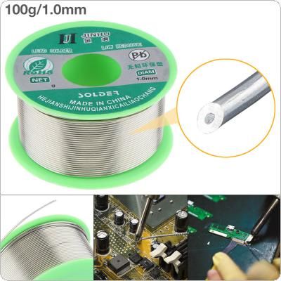 100g 1.0mm 99.7% Sn 0.03% Cu Environmental Friendly Lead-free Rosin Core Solder Wire with Flux and Low Melting Point for Electric Soldering Iron