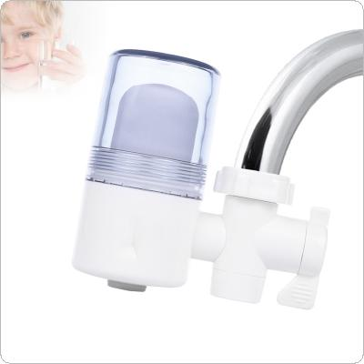Portable 2L/min Washable Ceramic Filter Faucet Tap Water Purifier Support Two Water Modes with 3 Interface Connectors for Kitchen / Bathroom