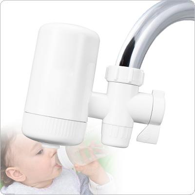 Portable 3L/min ABS Washable Ceramic Filter Faucet Tap Water Purifier Support Two Water Modes with 3 Interface Connectors for Kitchen / Bathroom