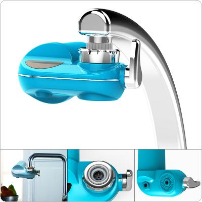 Portable 1.8L/min Washable Ceramic Filter Faucet Tap Water Purifier Support Three Water Modes with 5 Interface Connectors for Kitchen / Bathroom