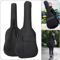 36 Inch Guitar Case Gig Bag Double Straps Oxford Fabric Pad 5mm Cotton Thickening Soft Cover Waterproof Backpack
