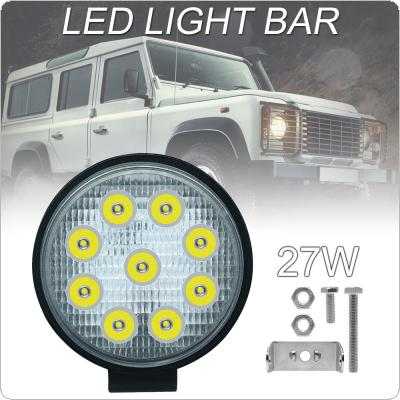 4 Inch Led Work Light Bar 27W Driving Pods Spot Beam Work Lamp for Off-Road Suv Boat 4X4 Jeep JK 4Wd Truck 12V-24V
