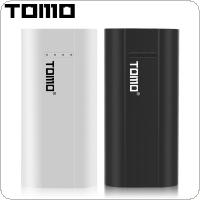 TOMO P2 USB Li-ion Intelligent Battery Charger Smart DIY Mobile Power Bank Case Support Dual 18650 Batteries and Dual Outputs for Smartphone
