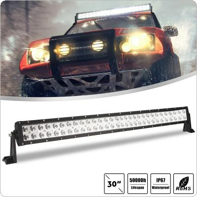30 Inch 300W 2 Rows Led Work Light Bar 6000K White Waterproof  for Off-Road Suv Boat 4X4 Jeep JK 4Wd Truck 12V-24V