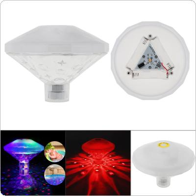 Led Colorful Underwater LED Disco Light Glow Show with 7 Flash Modes and 360° Beam Angle for Swimming Pool / Tub / Fishbowl