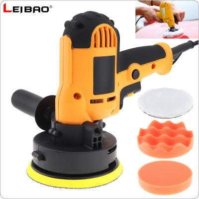220V 700W Electric Polisher Waxing Machine Floor Scratch Repair Sealing Glaze Machine with 5 Accessories and Self-adhesive Sanding Disc for Household / Vehicles