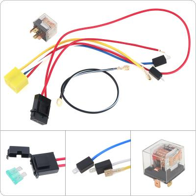 Universal 12V Wires and Relay for Air Horn Car/ Truck / Vehicle
