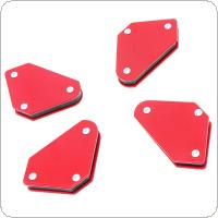 Mini 4 pcs/set Triangle Welding Positioner Without Switch 9Lb Magnetic Fixed Angle Soldering Locator Tools