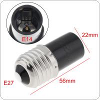 5pcs E27 to E14 LED Bulb Base Adapter Universal Light Converter Lamp Socket Holder with Aging Test