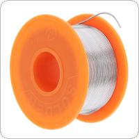 63/37 50g 0.6mm No Clean Rosin Core Solder Tin Wire Reel with 2% Flux and Low Melting Point for Electric Soldering Iron