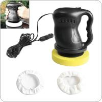 DC 12V 36W Mini Dual-purpose Car Waxing Polishing Machine with Wax Sleeves and Polish Sleeves