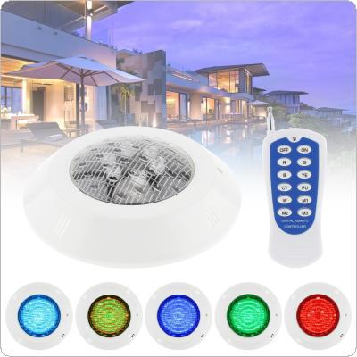 6 LED RGB Underwater Lamp Multi-Color 12V 6W RGB + Remote Controller Outdoor Underwater Lighting with Waterproof IP68 for Swimming Pool / Underwater Decoration