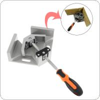 Single Handle 90 Degree Aluminum Alloy Right Angle Clip Woodworking Frame Folder Glass Right Angle Tool