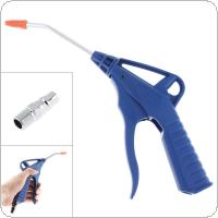 TL-AD-08 Luxury Type Short Nozzle Pneumatic Blowing Dust Gun with Press Type Switch and Bayonet Quick Connector for Home Decoration / Car Wash
