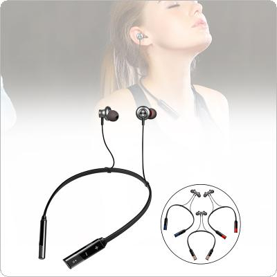 Sport Wireless Bluetooth Earphone Waterproof Bass Headphone Noise Cancelling Folding Inear Headset with Mic Stereo