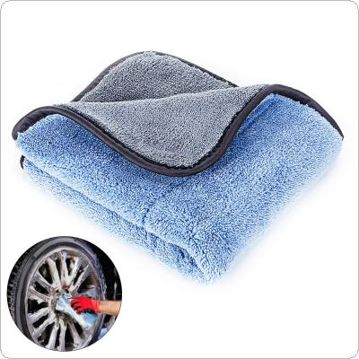 Blue Gray 45 X 38CM Coral Velvet  Dry-wet Multi-purpose Car Wipe Care Polishing Wash Drying  Towels