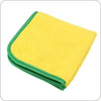 2 Colors 30 X 30CM Coral Velvet + Fiber Dry-wet Multi-purpose  Car Wipe Care Polishing Wash Drying  Towels