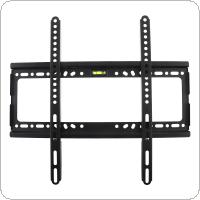 Universal 45KG Fixed Type TV Wall Mount Bracket Flat Panel TV Frame with Level for 32 - 55 Inch LCD LED Monitor