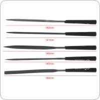 5pcs/set 141mm-145mm Mini Metal Filing Rasp Needle File Wood Tools Diy Polishing Tool