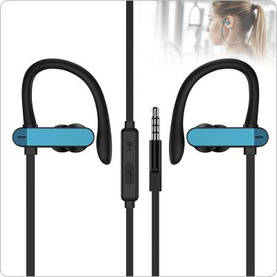 PTM T50 Sports Earphone Universal Wired Headset With Microphone And Multi-function Button