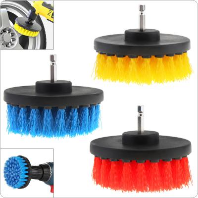 4 Inch Power Scrubber Brush for Cleaning Bathroom Carpet Tile Sink Plastic Mechanical Tool Brush