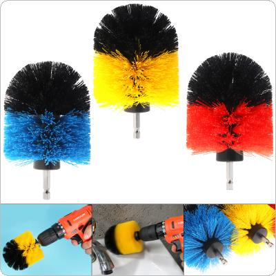 3.5 Inch Power Scrubber Brush for Cleaning Bathroom Carpet Tile Sink Plastic Mechanical Tool Brush