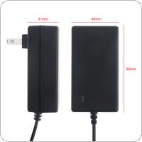 90cm 21V DC Power Adapter Charger with EU Plug and US Plug Universal for Lithium Electric Drill / Screwdriver / Wrench