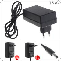 90cm 16.8V Power Adapter Charger with EU Plug and US Plug for Lithium Electric Drill / Electric Screwdriver