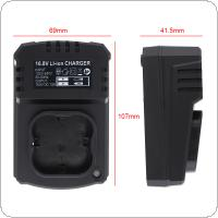 80cm Universal DC 16.8V Portable Lithium Battery Rechargeable Charger Support 100-240V Power Source for Lithium Electrical Drill / Electrical Screwdriver
