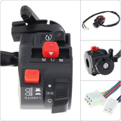 22MM Steering Wheel Start Headlight Far And Near Light Flameout Switch for Motorcycle / ATV