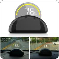 Universal C700 3.5 Inch HD Intelligent Head Up Display with Two Mode Display for Automobile