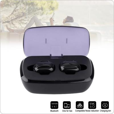 TWS K8 Bluetooth V4.2 EDR Earphone Mini Sports Headphones with Bilateral Stereo Sound and Automatic Matching for Iphone / All Smart Phone / Air pods