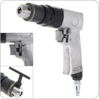 "AD-102 1/4"" 1700rpm High-speed Positive Reversal Pistol-type Pneumatic Gun Drill with Chuck Wrench and Bayonet Quick Connector for Hole Drilling"