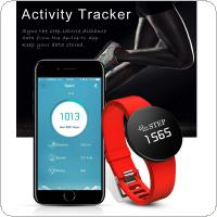 TLWD3 Smart Wristband  IP68 Waterproof with Calls Reminding and Sleep Monitoring for Android