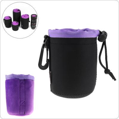Small Universal SLR Camera Thick Camera Drawstring Lens Protective Bag with Chain Handle