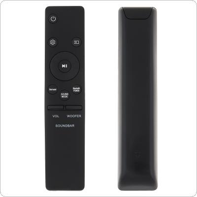 IR 433MHz Replacement Sound Bar Remote Control with Long Remote Control Distance Fit for Samsung Sound Bar AH59-02745A