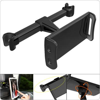Universal ABS + PC Car Rear Pillow Mobile Phone / Tablet Device Stand Holder Support Rotated 360°Degrees for 4 Inche  ~ 11 Inche