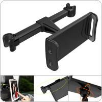 Universal ABS + PC Car Rear Pillow Mobile Phone / Tablet Device Stand Holder Support Rotated 360 Degrees Fit for 4 Inch  ~ 11 Inch