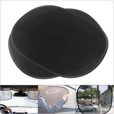 2pcs/pair  Universal PVC Electrostatic Film  Car Auto Shading Sun Protection Heat Insulation Static Grid Yarn