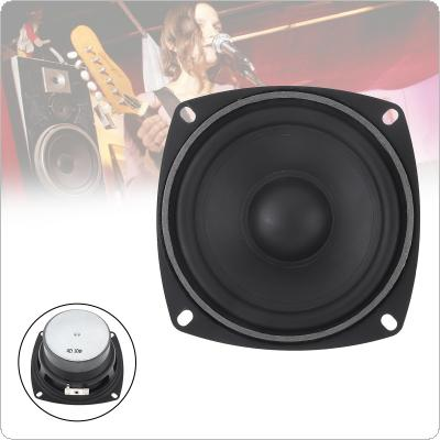 4 Inch 30W Rubber LoudSpeaker Waterproof Midrange Woofer Low Frequency with Bluetooth DIY 1PC for Outdoors / Bathroom / Car Audio