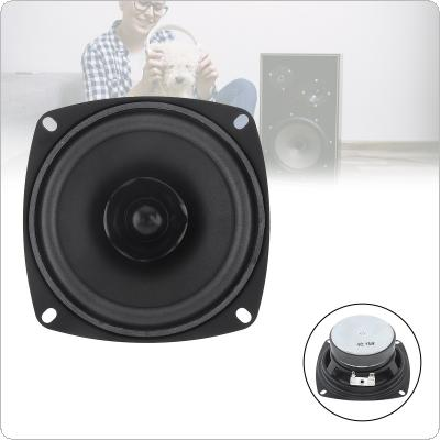4 Inch 15W Portable Tweeter Full Frequency Speaker Rubber Midrange Woofer Low Frequency with Bluetooth DIY 1PC for Outdoors / Motorcycle