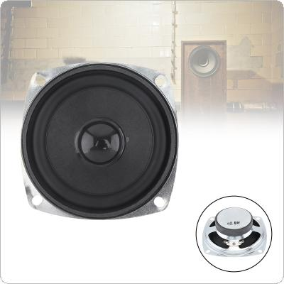 3 Inch 5W Portable Tweeter Full Frequency Neodymium Speaker Rubber Car CD Amplifier Speaker with Bluetooth DIY 1PC For Outdoor / Bathroom  / Motorcycle