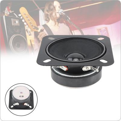 2.5Inch 5W Portable Tweeter Full Frequency Neodymium Rubber Car CD Amplifier Loudspeaker with Bluetooth DIY 1PC for Car / Loaded Box / Pill XL