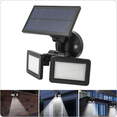 5.5V 2.5W 48LED Solar Street Light Radar Induction Wall Light Waterproof 360° Energy-saving for Garden / Courtyard / Fence / Wall
