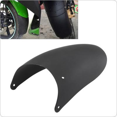 Black Plastic Lengthened Front Mud Board Tail Warp Mudguard Used for Motorcycle Universal