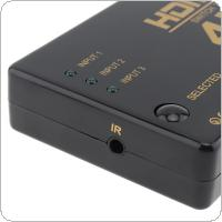 4K Ultra HD HDMI Switch 3 to 1 Switcher Splitter Box Convertor Adapter for DVD / HDTV / Xbox / PS3 / PS4 / Xiaomi
